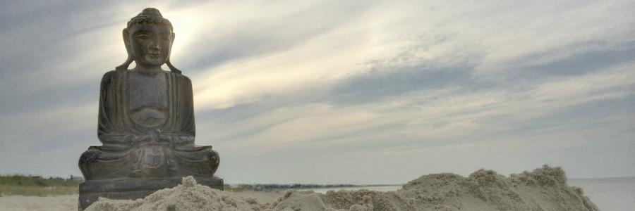 Beach Buddha Banner